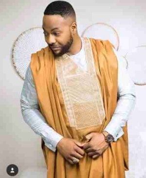 Actor Bolanle Ninalowo Rocks Clean Agbada In New Adorable Photo
